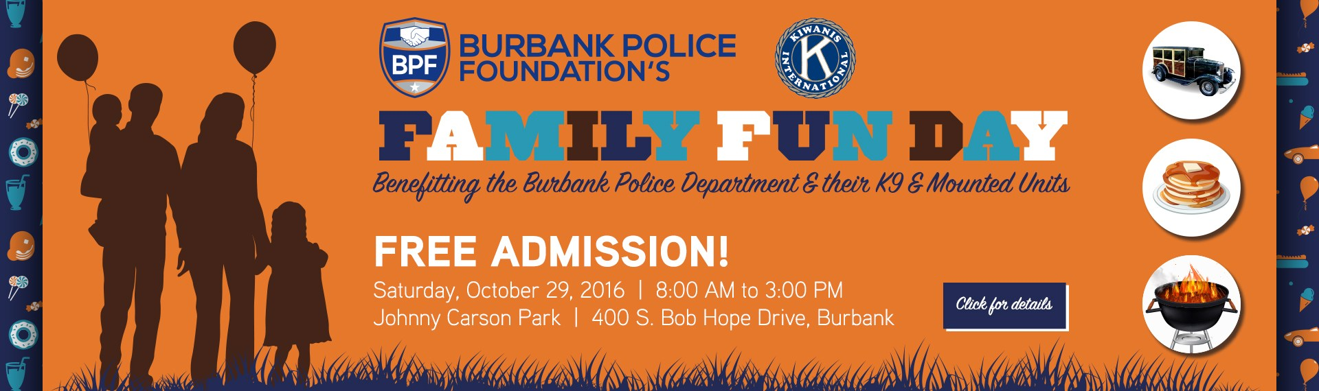 Burbank Police Foundation Family Fun Day - Oct 29