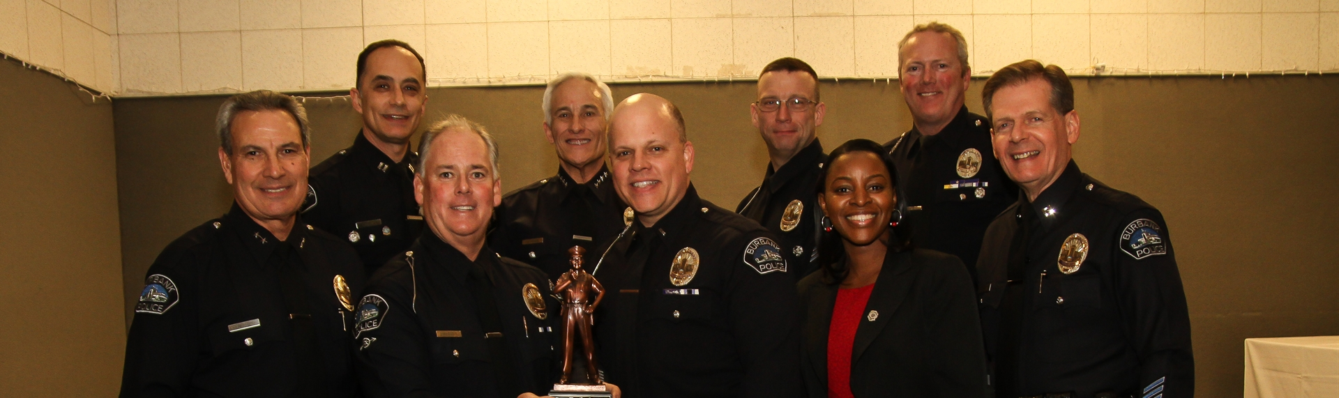 CONGRATULATIONS TO OUR 2015 OFFICER OF THE YEAR!