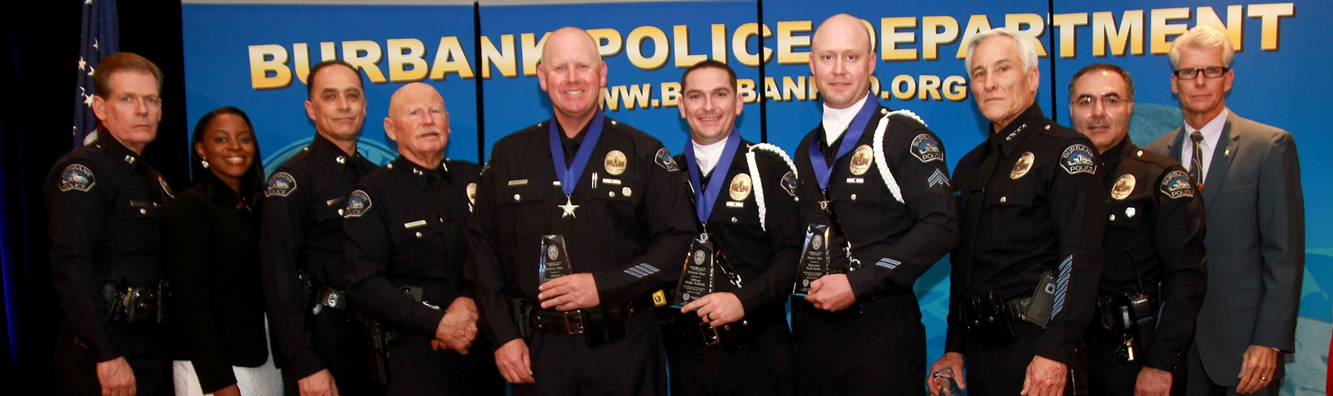 Burbank Police Foundation Recognizes Silver Star Recipients