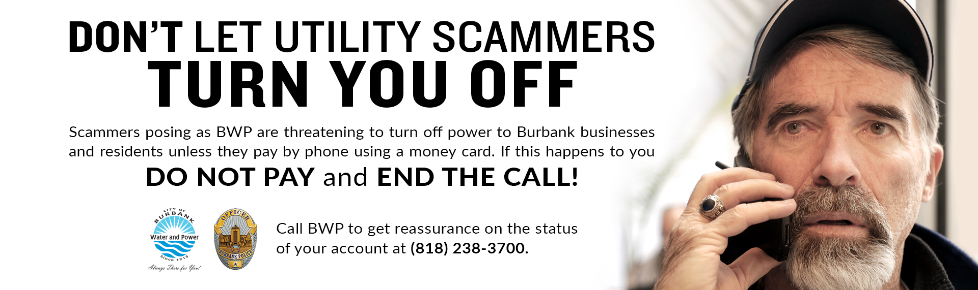 Learn More About Utility Scams Here >>
