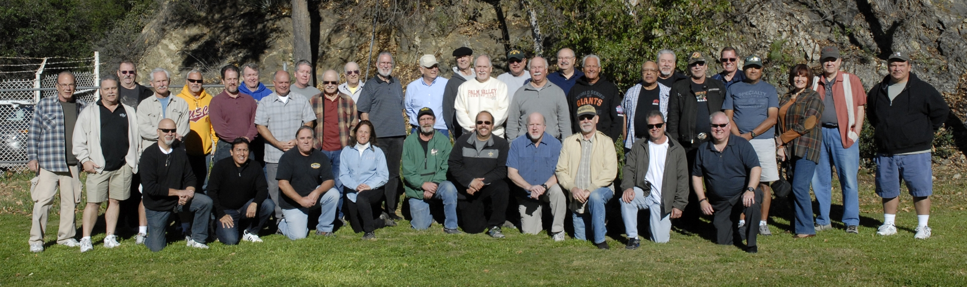 BPD RETIREES AT THE RANGE FOR THEIR ANNUAL GET TOGETHER